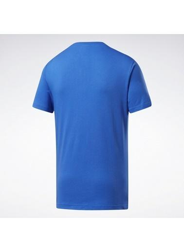 Reebok Unisex Mavi Classıcs  Tişört FK2623 Mavi